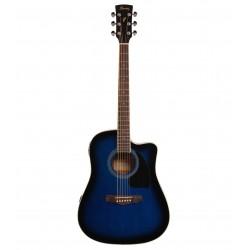Guitarra Ibanez pf15ece-tbs...